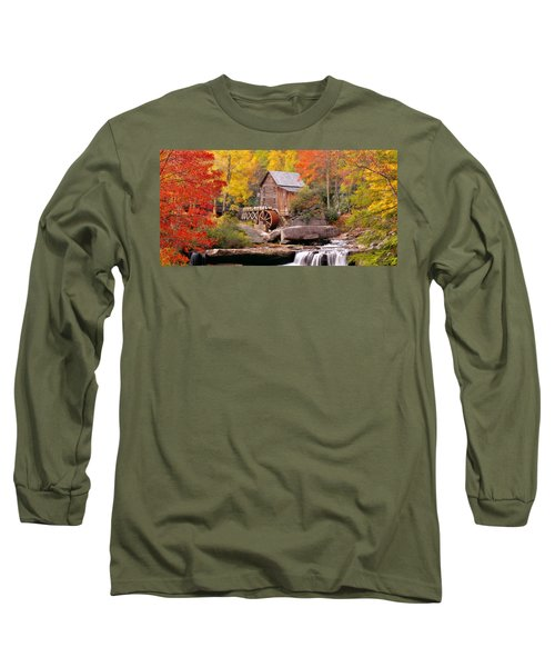 Usa, West Virginia, Glade Creek Grist Long Sleeve T-Shirt