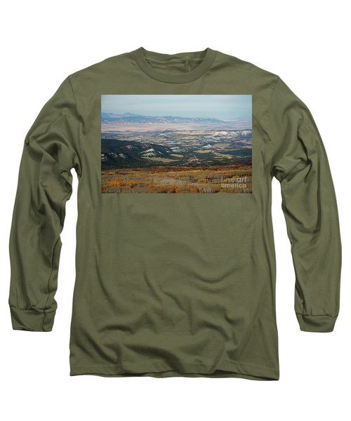 Utah A Patchwork Long Sleeve T-Shirt
