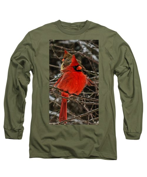 Valentines Long Sleeve T-Shirt by John Harding