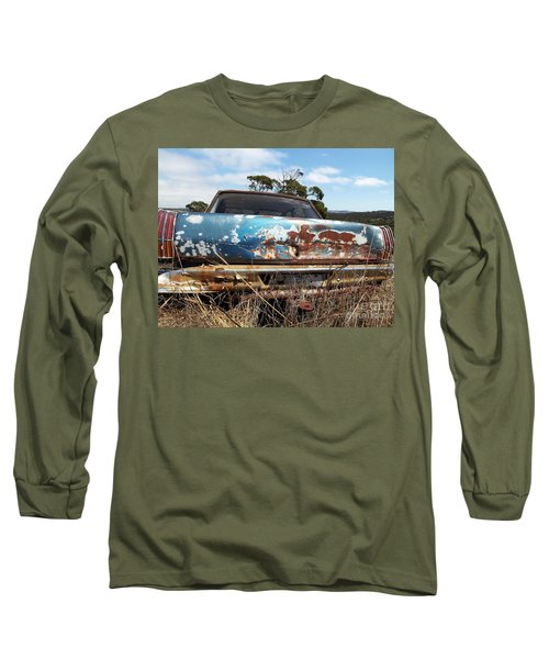 Long Sleeve T-Shirt featuring the photograph Valiant View by Stephen Mitchell