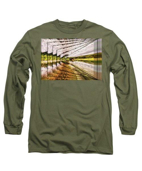 Van Gogh Perspective Long Sleeve T-Shirt by Mario Carini