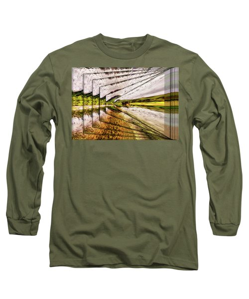 Van Gogh Perspective Long Sleeve T-Shirt