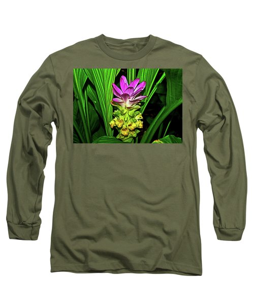 Variegated Hidden Ginger 001 Long Sleeve T-Shirt