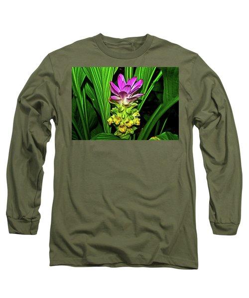 Variegated Hidden Ginger 001 Long Sleeve T-Shirt