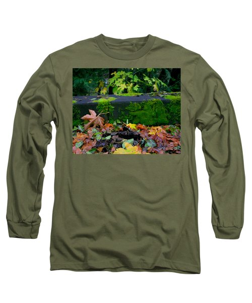 Varigated Fall Long Sleeve T-Shirt by Marie Neder