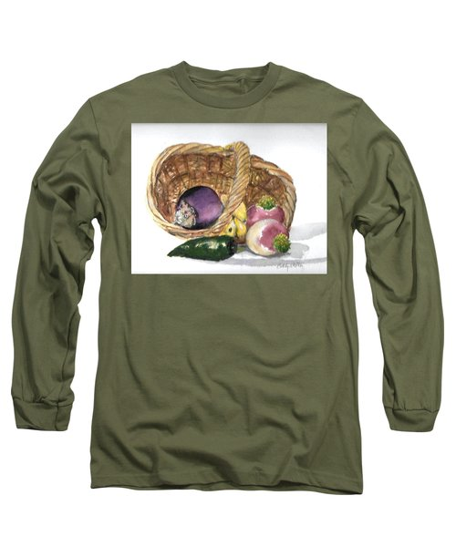 Veggie Basket Long Sleeve T-Shirt