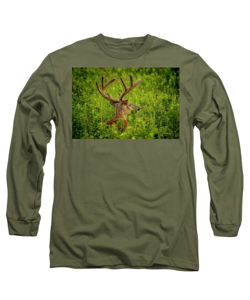 Velvet Eight Long Sleeve T-Shirt