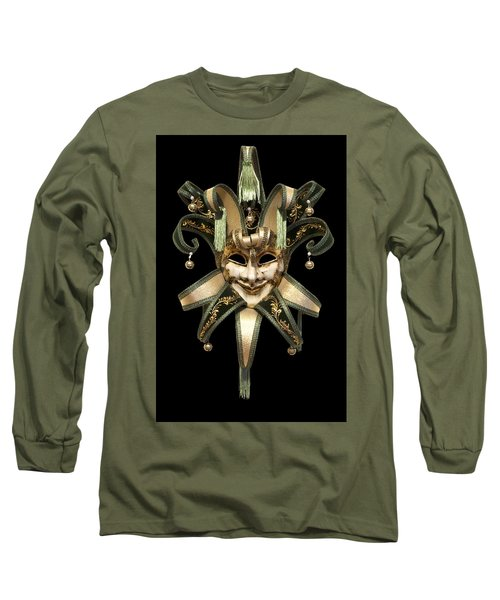 Venetian Mask Long Sleeve T-Shirt