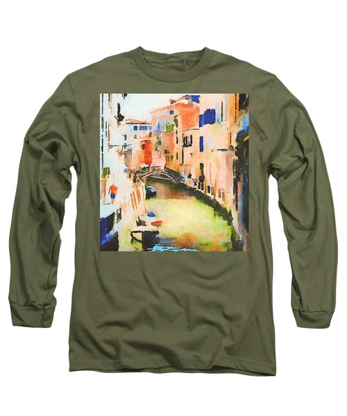 Venice On Waters Long Sleeve T-Shirt