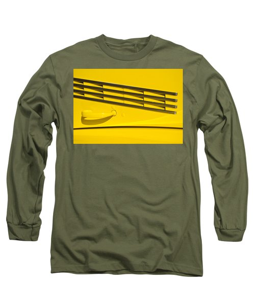 Vented Chrome To Yellow Long Sleeve T-Shirt