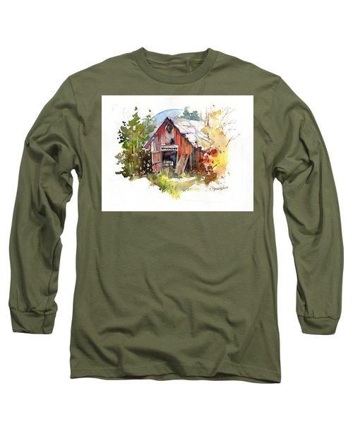 Vermont Barn Long Sleeve T-Shirt