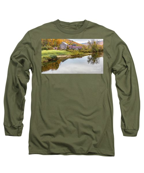 Vermont Countryside Long Sleeve T-Shirt