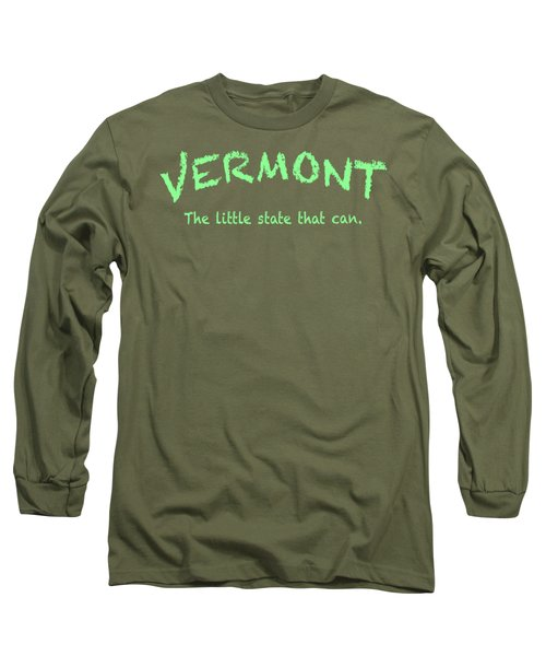 Vermont Little State Long Sleeve T-Shirt