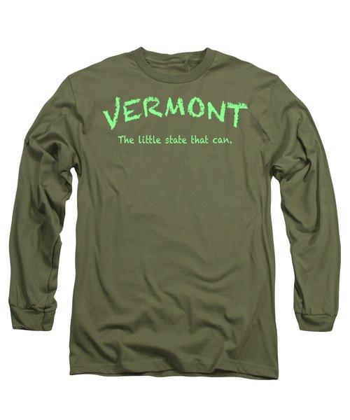 Vermont Little State Long Sleeve T-Shirt