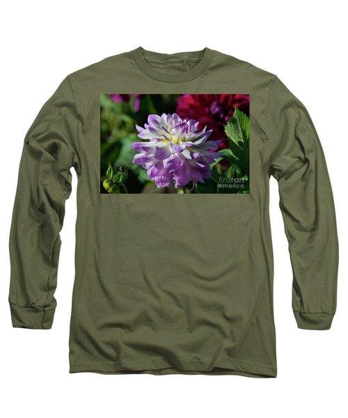 Victoria Ann Dahlia Long Sleeve T-Shirt