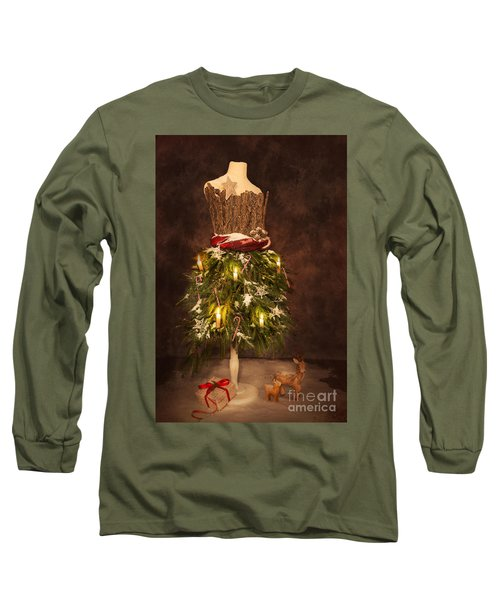 Victorian Festive Christmas  Long Sleeve T-Shirt