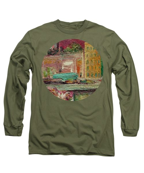 View From A Balcony Long Sleeve T-Shirt