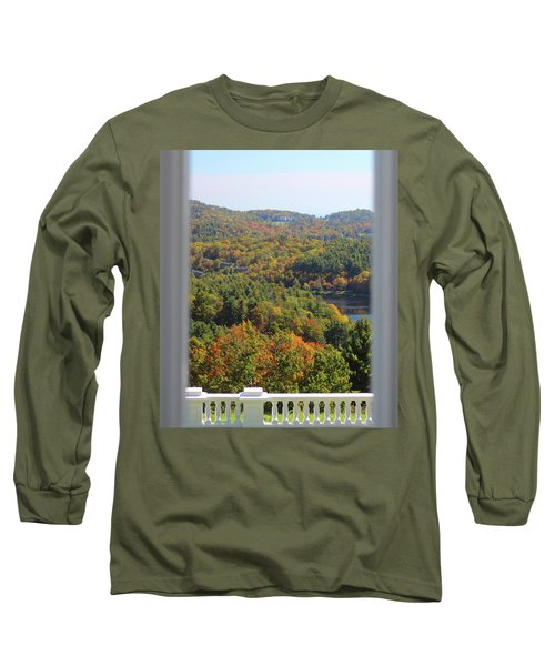 View From Moses Cone 2014b Long Sleeve T-Shirt