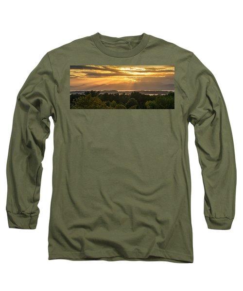 View From Overlook Park Long Sleeve T-Shirt by Craig Szymanski