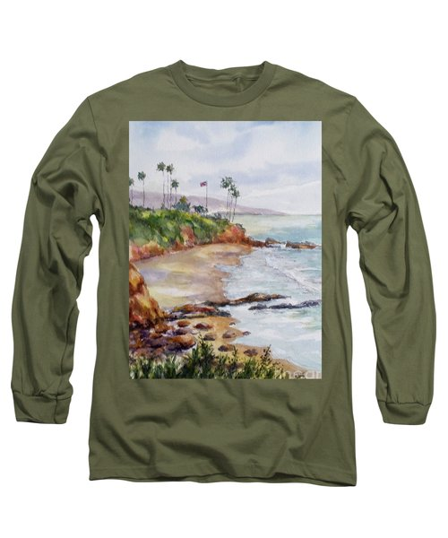 View From The Cliff Long Sleeve T-Shirt by William Reed