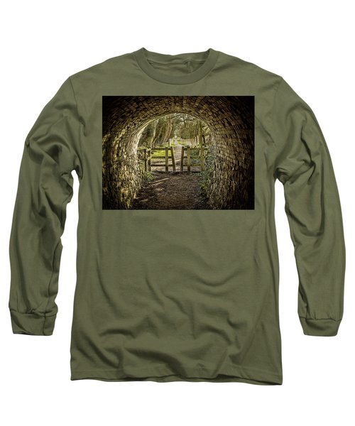 Long Sleeve T-Shirt featuring the photograph View From The Tunnel by Nick Bywater
