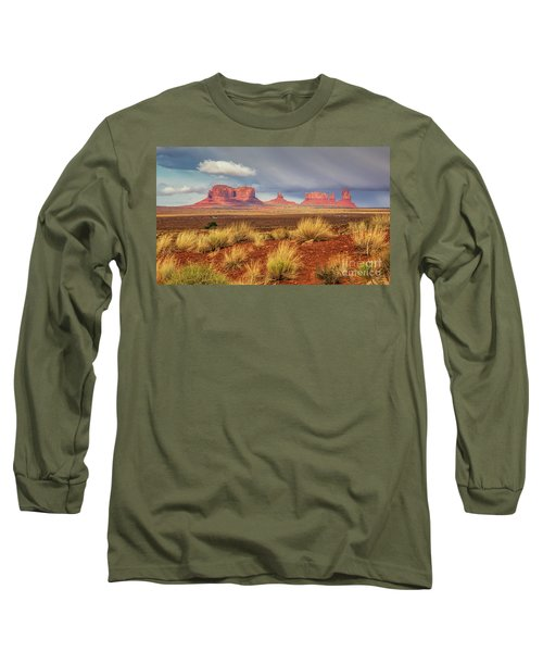 View Of Monument Valley Long Sleeve T-Shirt