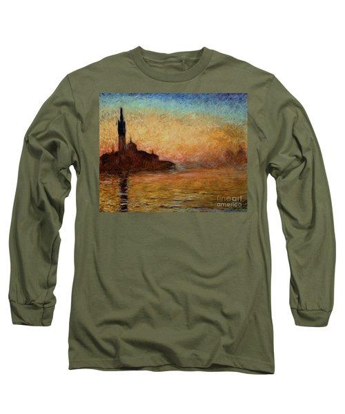 View Of San Giorgio Maggiore Long Sleeve T-Shirt