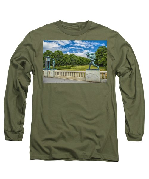 Vigeland Park Long Sleeve T-Shirt