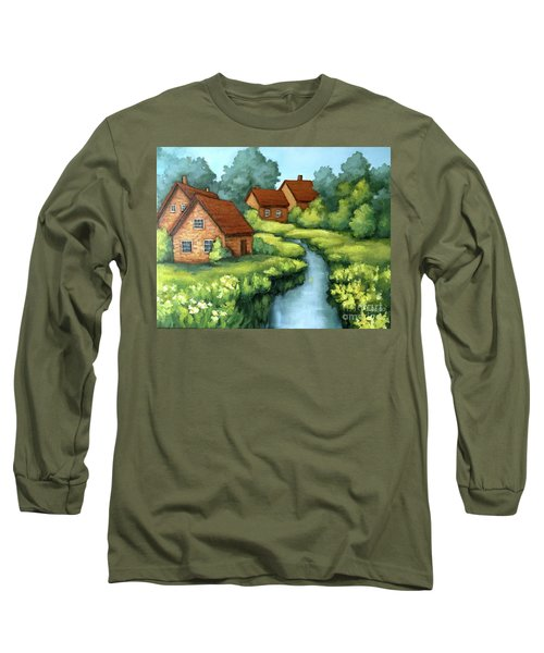 Village Summer Long Sleeve T-Shirt