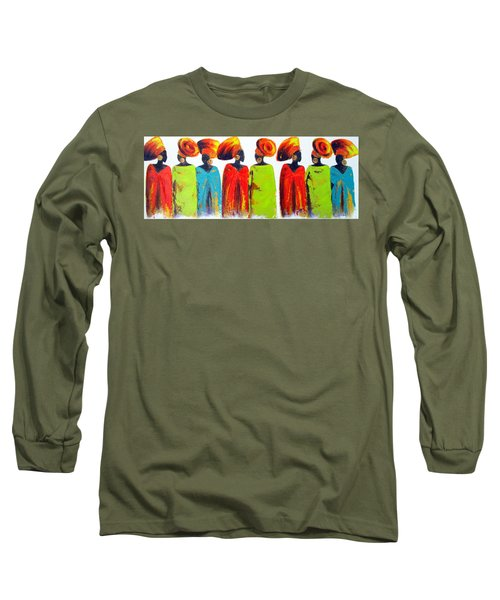 Village Talk Long Sleeve T-Shirt