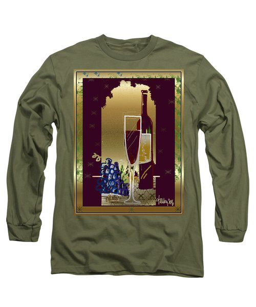 Vin Pour Une Long Sleeve T-Shirt