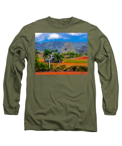 Vinales Valley. Cuba Long Sleeve T-Shirt