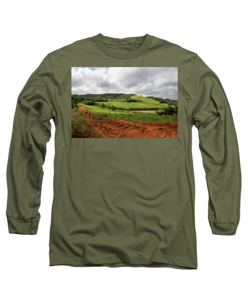 Vinales Valley Long Sleeve T-Shirt