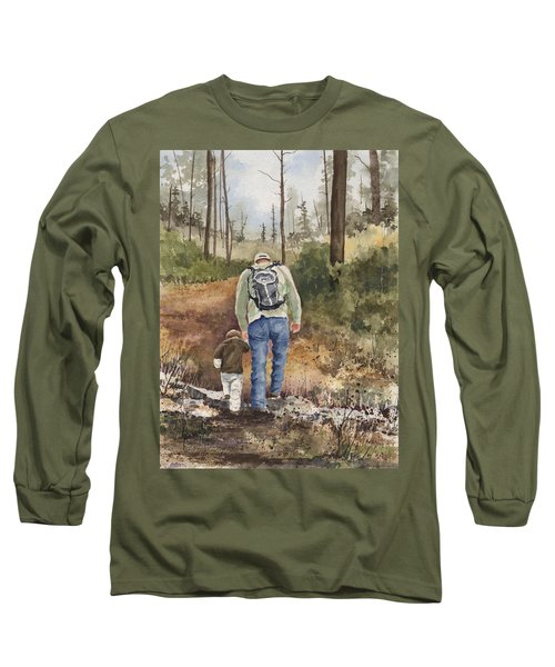 Vince And Sam Long Sleeve T-Shirt by Sam Sidders