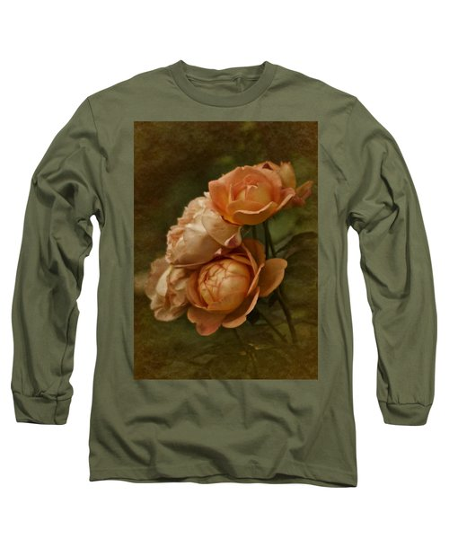 Vintage Aug Roses Long Sleeve T-Shirt