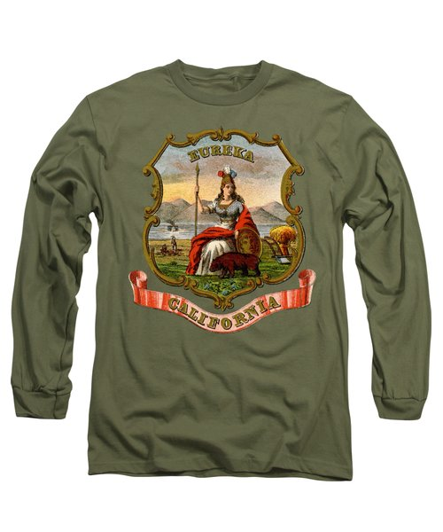 Vintage California Coat Of Arms Long Sleeve T-Shirt