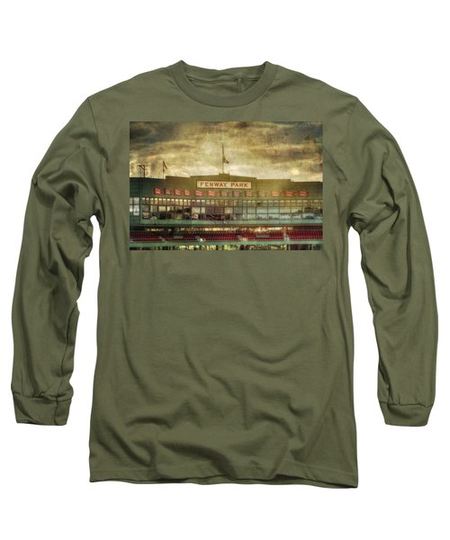 Vintage Fenway Park - Boston Long Sleeve T-Shirt