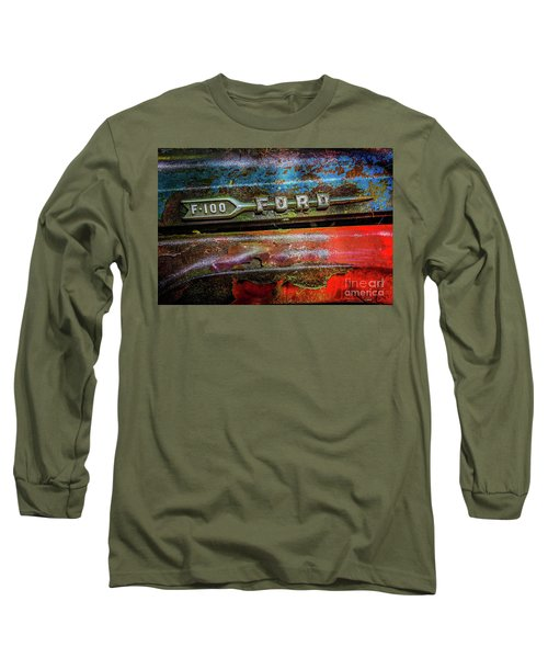 Vintage Ford F100 Long Sleeve T-Shirt