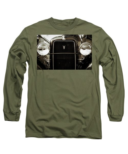 Vintage Ford V8 Long Sleeve T-Shirt