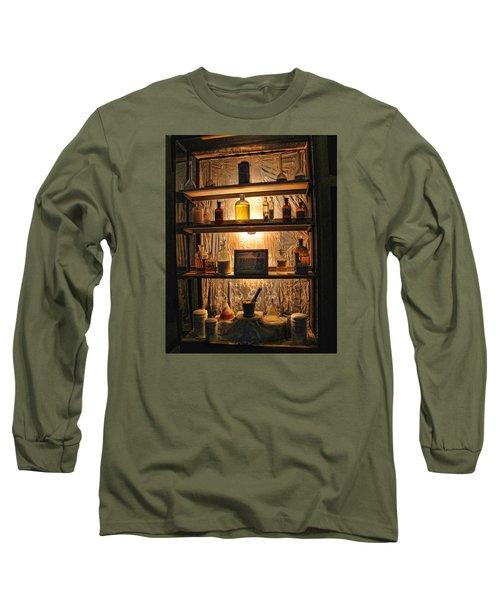 Vintage Medicine Cabinet Long Sleeve T-Shirt