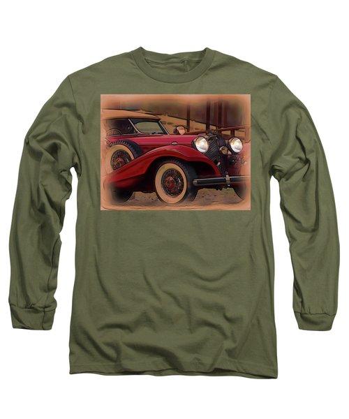 Vintage Mercedes Long Sleeve T-Shirt