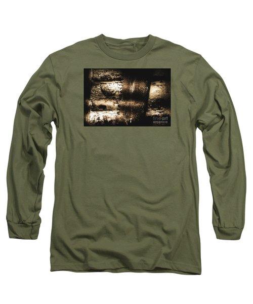 Vintage Mining Saw Long Sleeve T-Shirt