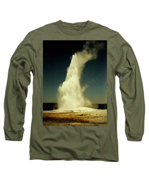 Vintage Old Faithful Long Sleeve T-Shirt