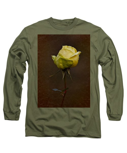 Vintage Yellow Rose 2018 Long Sleeve T-Shirt