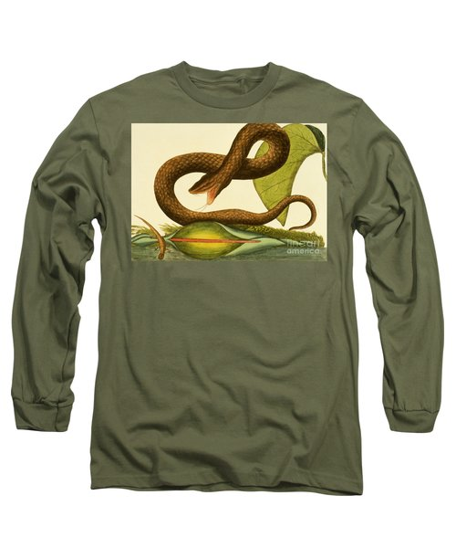 Viper Fusca Long Sleeve T-Shirt by Mark Catesby