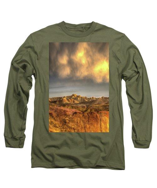 Virga Over The Badlands Long Sleeve T-Shirt