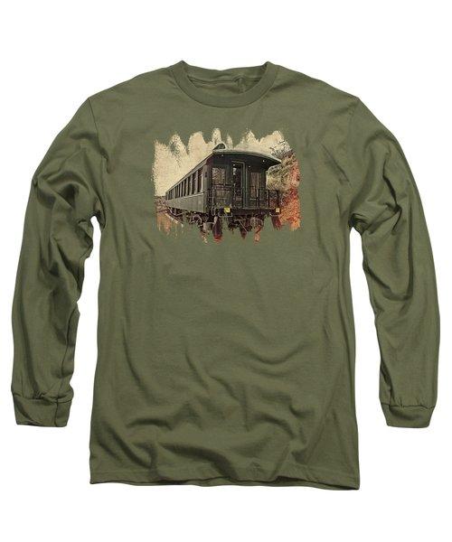 Virginia City Pullman Car Long Sleeve T-Shirt
