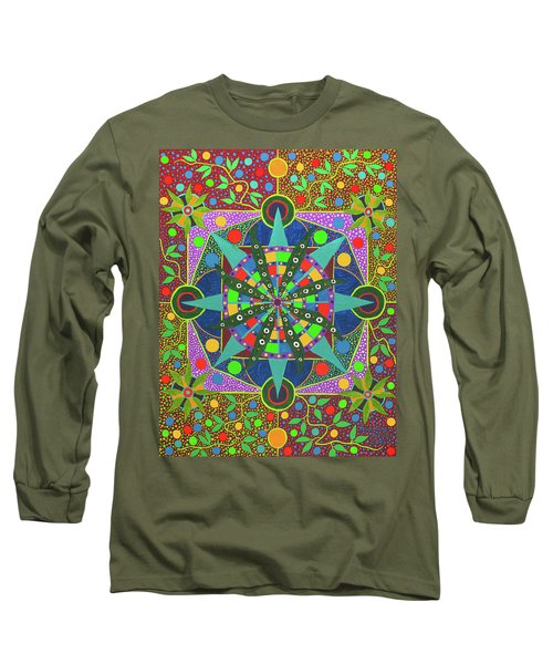Vision - The Dna Of Plants Long Sleeve T-Shirt