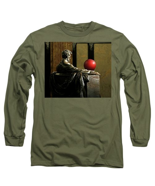 Long Sleeve T-Shirt featuring the photograph Visiting Lincoln by Christopher McKenzie