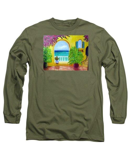 Vista Del Agua Long Sleeve T-Shirt
